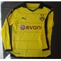 Camiseta Titular Borussia Dortmund Mang Larga 2015 2016 Reus