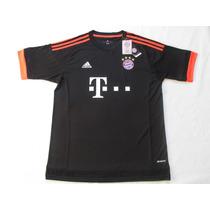 Camiseta Bayer Munich 2016 Suplente Negra