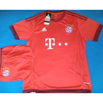 Camiseta Del Bayer Munich 2015 C/short
