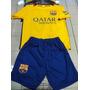 Nuevo 2016 Conjunto Camiseta Short Barcelona Messi Niños