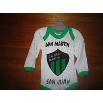 Exclusivo Body Enterito Recien Nacido De San Martin San Juan