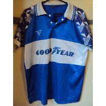 Camiseta Fútbol Tipo Gimnasia La Plata Team Foot #8 Años 80s