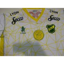 Camiseta Defensa Y Justicia Lyon 2015 80 Años Suplent Origin