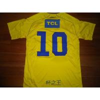 Camiseta Independiente Puma 2013 Amarilla #10 Pisano