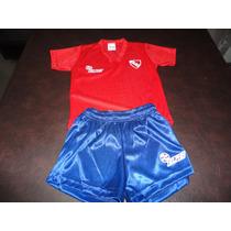 Camiseta Y Pantalon Acetato Independiente 2 Años