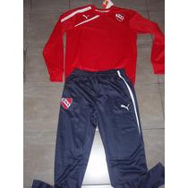 Conjunto Independiente Buzo Y Pantalon Con Escudo 2013/14