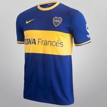 Conjunto Camiseta - Short N... Boca Jrs Réplica Temp 2013/14