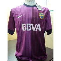 Camiseta Boca Juniors Violeta Verano 2013 - Unica