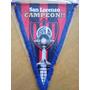San Lorenzo-banderín Campeon Libertadores 2014 +llavero Copa