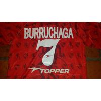 Camiseta Independiente Burruchaga 1997 Usada En Juego