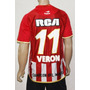 Camiseta Estudiantes Titular 2010 Veron 11 Topper