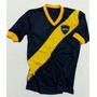 Camiseta Retro De Boca Conmemorativa 100 Años