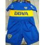 Nuevo 2016 Conjunto Camiseta Short Boca Juniors Niños