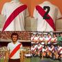 Camiseta Retro River Plate #2 Mariscal Roberto Perfumo