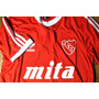 Camiseta Retro Club Independiente Titular Con Logo Mita.