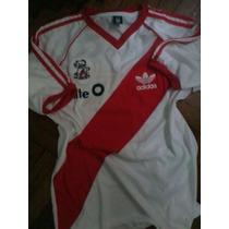 Camiseta Retro De River Plate 86. Titular
