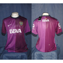 Camiseta Boca Jrs Bbva Violeta Torneo Verano 2013