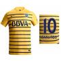 Camiseta Boca 2016 Suplente Y Titular Numero Y Nombre Gratis