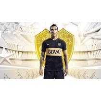 Camiseta Boca Juniors Negra 2016 Niños Nike Original Nueva