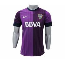 Camiseta Oficial Boca 2013 Violeta N I K E Envio Gratis