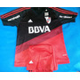 Camiseta River Plate Negra 2016, Con Short! Imperdible