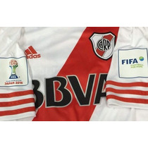Camiseta River Plate Opcional Parche Mundial Clubes 2015
