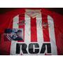 Autografiada! Camiseta Estudiantes Lp Adidas #6 Marcos Rojo