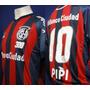 Camiseta San Lorenzo 300 Partidos Del Pipi