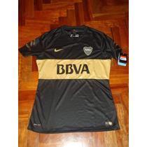 Camiseta Boca Juniors Nike Negra Suplente Nueva Entrego Ya!!