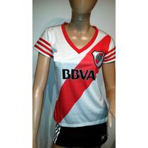 Camiseta Seleccion Argentina Futbol Mujer Dama. Variosclubes