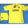 Nueva Camiseta Boca Amarilla 2015-16, Con Short! Oferta!