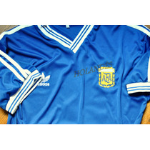 Camiseta Argentina 1990. Retro Final Alemania. Maradona