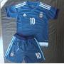 Kit Niño Camiseta Y Short Argentina 2015