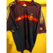 Camiseta Fútbol Selección Francia Euro 2004 Xl C/detalle