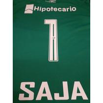 Camiseta Nueva Racing 2015 Saja Verde Arquero Gran Calidad!