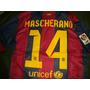Camiseta #14 Mascherano Liga España Lfp Envio Gratis !!!