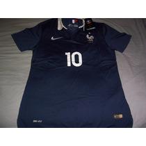 Camiseta Nike Seleccion Francia 2014 # 10 Benzema Unica!!