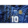 Camiseta Retro Argentina 94 Maradona D10s La Mas Linda