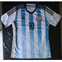 Camisetas Selección Argentina Titular 2014 Messi