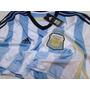 Camiseta Argentina Alt. Mundial 2014, Adidas