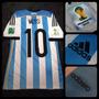 Camiseta Titular Argentina - 10 Messi - Adizero