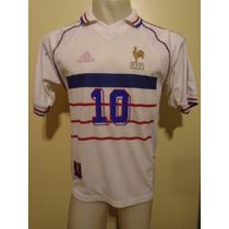 Camiseta Fútbol Selección Francia Mundial 98 1998 Zidane #10