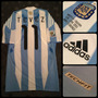 Camiseta Titular Argentina - 11 Tevez - Techfit