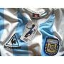 Camiseta Retro Futbol Seleccion Argentina Año 86, Titular