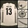 Camiseta Titular Alemania - 13 Muller - Formotion
