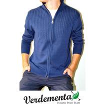 Sweaters Verdementa. Campera De Hilo De Algodon. Fabricantes