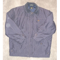 Lacoste Campera Impermeable Abrigo Talle S Muy Legacy