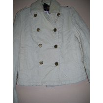 Campera Corderoy Forrada Mujer Talle S