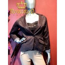Blazer Saco Negro Elegante