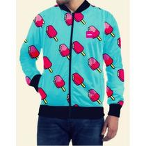 Campera Termica Wide Cool Jacket Con Cierre Diseños Unicos